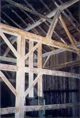Timber Frame Barn detail