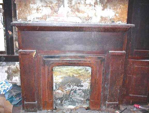 Antique 1840's Mantle
