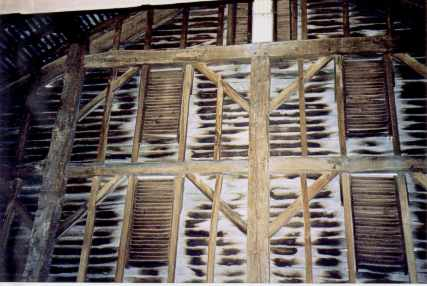 wonderful timber framing!