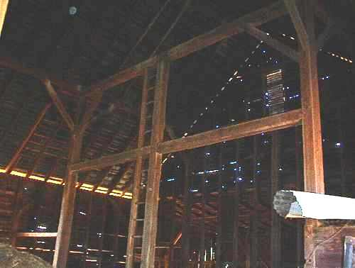 interior of the Barn