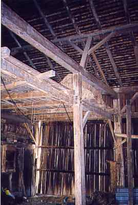 view of loft and ceiling