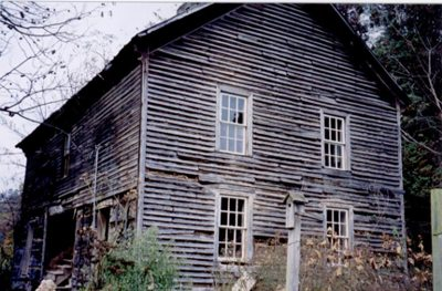 Side View of Krenn Log house.