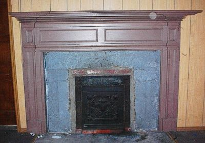 Painted Mantle circa 1880