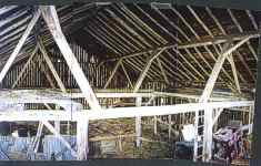 45 x 50 Hand-hewn English Threshing Barn