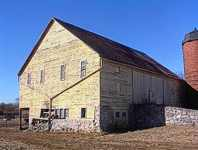 Eastern PA style Bank Barn